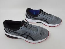 New! Men's ASICS GT-1000 6 Running Shoes SZ 9 Gray/Black/Red T7A4N F30