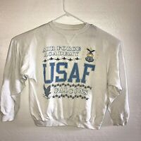 Galt Sand Mens Sweat Shirt Air Force Academy Falcons Vintage Medium B15