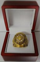 1961 Chicago Blackhawks Stanley Cup Hockey Ring WITH Wooden Box.. Mikita Hull