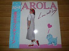 CAROLA Love Isn't Love JAPAN LP NM WAX OBI 28MM0352