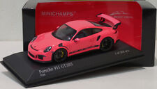 "Minichamps 1/43 Porsche 911 (991) GT3 RS 2015 ""Almost Real"" Pink Special Promo"