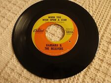 BARBARA & THE BELIEVERS  WHEN YOU WISH UPON A STAR/WHAT CAN HAPPEN CAPITOL   M-