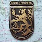 Old German Navy Metal Plaque Tampion Crest : MJ Boot Frankenthal