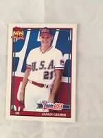 1991 TOPPS TRADED #45T Jason Giambi Rookie Card