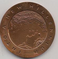 2000 in un nuovo millennio MEDAGLIA COMMEMORATIVA da bigbury Nuovo di zecca