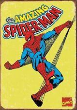Fridge Magnet 2x3 Spiderman Retro Tin Metal Sign