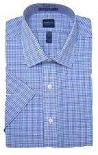 Mens Shirt Arrow Regular Fit Cotton Rich Easycare Short Sleeve