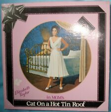 Elizabeth Taylor Mgm's Cat On a Hot Tin Roof Collector Plate Nib~