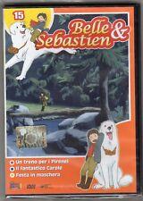 dvd BELLE E SEBASTIEN HOBBY & WORK numero 15