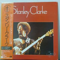 STANLEY CLARKE SAME ATLANTIC P-10345A Japan OBI VINYL LP