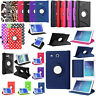 360 PU Leather Case For Samsung Galaxy Tab E 8.0 7.0 9.6 T110 T377 T560NU