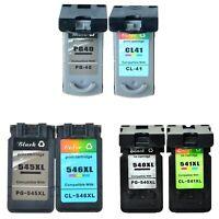 Cartouches d'encre pour Canon PG545XL CL546XL PG540XL CL541XL PG40 CL41 PIXMA
