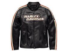 Harley-Davidson Men's Torque Leather Jacket Gr. 4XL - Herren Leder Jacke Schwarz