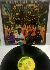 CULTURAL ROOTS - Hell A Go Pop - GREENSLEEVES LP - Near Mint - GREL 62 UK Press