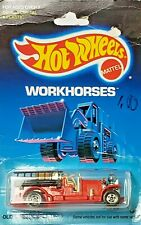 Hot Wheels Workhorses Old Number 5 Fire Truck New