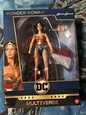 Wonder Woman Lynda Carter DC Multiverse Mattel Action Figure
