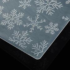 Plastic Embossing Folder For Scrapbook DIY Album Card Tool Template Snowflake
