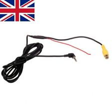 RCA to 2.5MM AV IN Cable for Car DVR Camcorder Rear View Parking Camera Adapter