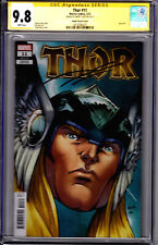 Marvel! Thor #11! Nauck Cover! CGC Signature Series 9.8! Signed by Donny Cates!