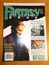 FANTASY ZONE #6 BRITISH MONTHLY MARCH 1990 ROBERT ENGLUND RAY HARRYHAUSEN^