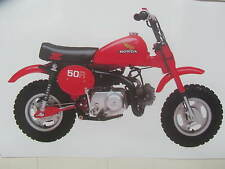 HONDA Z50R 1981 DECALS KIT COMPLETE   REPRO