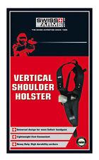 """HOLSTER D'EPAULE VERTICAL NOIR SWISS ARMS AIRSOFT PISTOLET BILLES """"NEUF"""" 603613"""