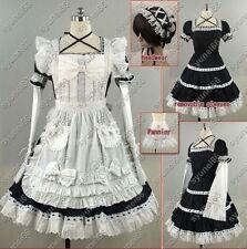Gothic Lolita Costume Maid Sissy Dress Halloween Cospla