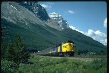 351049 Via FP 7 6302 Leads Train 2 Canadian East bound A4 Photo Print