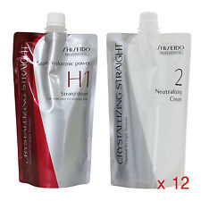 Shiseido Crystallizing Straight Coarse Resistant Hair H1  Lots of 12 Wholesale