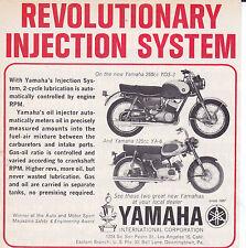 1964 YAMAHA YDS-3 / YA-6 MOTORCYCLE  ~  NICE ORIGINAL SMALLER PRINT AD