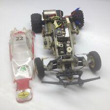 Vintage Tamiya The Frog Racing Team RC Car