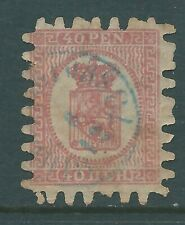 FINLAND 1866 used 40pen SG40