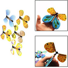 10Pcs Magic Trick Flying Butterfly Freedom Special Party Gag Wedding Inveteshion