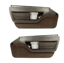 84 85 86 87 88 89 Corvette C4 Standard Door Panels - Pair in Black