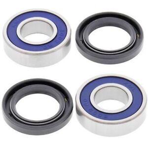 Boss Bearing H-CRF150-FR-1001-10D10-1 Front Wheel Bearings and Seals Kit for Honda CRF150F 2003-2012