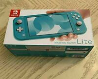 Nintendo Switch Lite 32 GB - Turquoise - BRAND NEW - UNOPENED - FREE SHIPPING