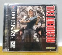 Resident Evil Black Label PS1 Very Rare Original Release Sony PlayStation
