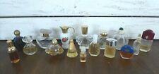 16 Miniature Perfume Bottle Lot Navy Ysatis Avon Moschino Pavlova Estee Lauder