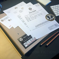 James Bond 007: Die Another Day - Prop MI6 Agent Reports Paperwork File / Folder