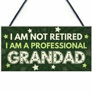 GRANDAD Gift Plaque Grandad Birthday Gift From Grandchildren Fathers Day Gift