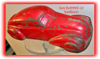 SUN RUBBER CO (SUNRUCO) 1930'S VINTAGE TOY CAR AUTOMOBILE
