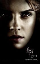 "Harry Potter movie poster - Deathly Hallows , HP 7 (Hermione)   11"" x 17"""