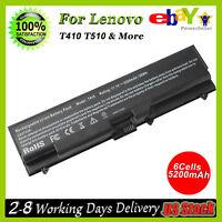 Battery for Lenovo Thinkpad T410 T420 T510 T520 SL410 SL510 Adapter Power Cord