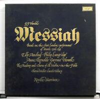 Argo D18D3  Handel - Messiah 3 x vinyl LP Set   Ameling Langridge - Marriner