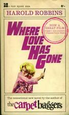 Where Love Has Gone - Harold Robbins - Acceptable - Paperback