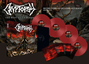 Cryptopsy, The Best Of Us Bleed  (4 Coloured Vinyl) Limited Edition Set