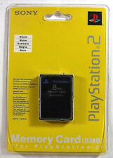 New GENUINE Official Sony PS2 8mb Memory Card Playstation 2