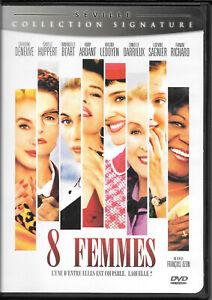 8 Femmes / 8 Women (DVD, 2003) VG