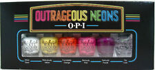 Opi Outrageous Neons Mini Collection Nail Polish Lacquer Brand New!