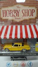 Greenlight Hobby Shop 1953 Studebaker Commander with Vintage Gas Pump (NG53)